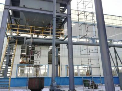 化工原料管链输送机使用现场
