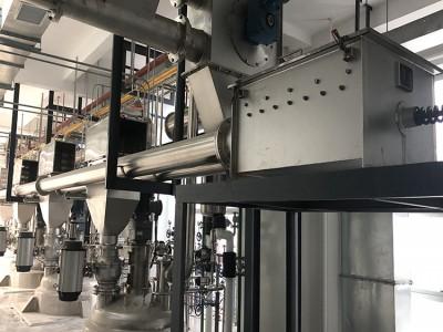 广西食品添加剂管链输送机行业应用现场