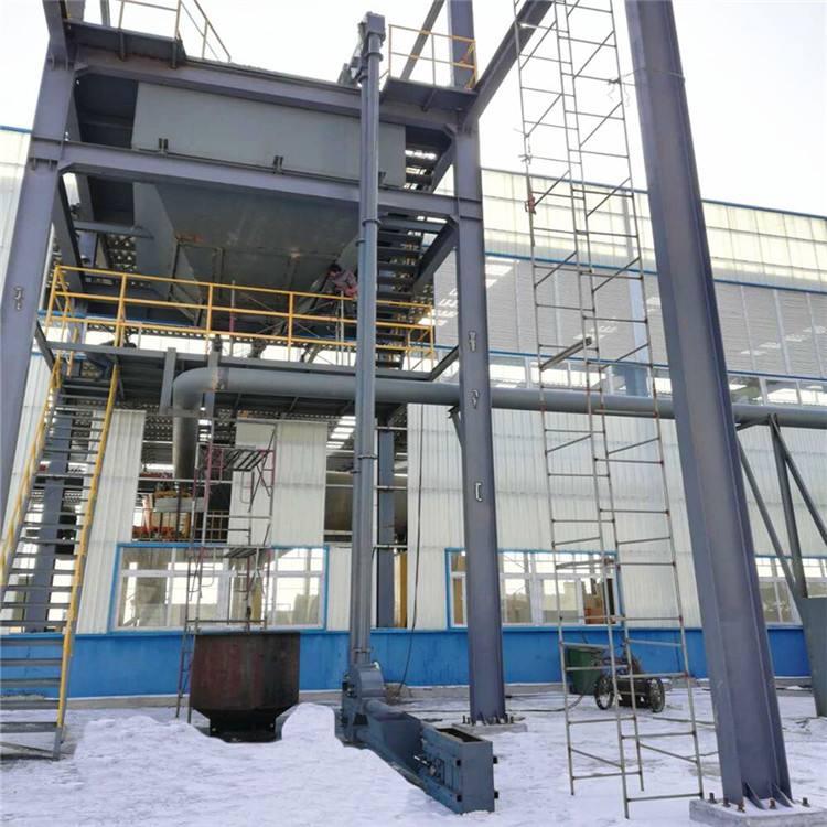 化工原料管链输送机使用现场插图