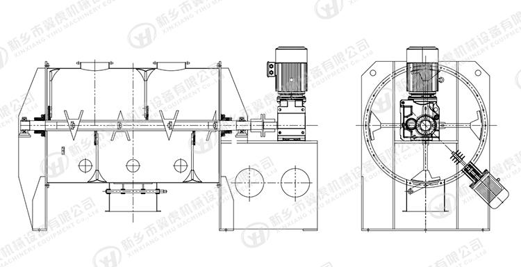犁刀混合机插图(2)